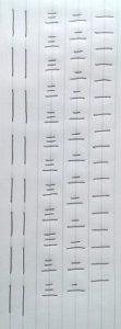 直線の練習