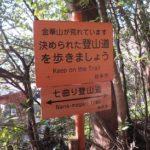 金華山の「七曲り登山道」は3歳児でも登れる初級者におすすめコース