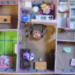 【プリキュアハウス】段ボールでプリキュアのフィギアのお家を作ろう!