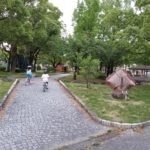 岐阜市 八ツ草公園は子供の自転車の練習におすすめ!大型遊具でも遊べる!