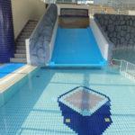 大野町の温水プール「ゆ~みんぐ」はウォータースライダーがおすすめ!