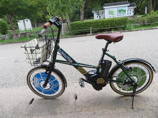 電動自転車「のぶなが号」