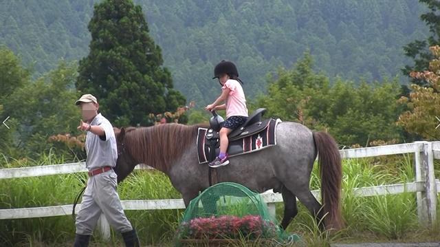 富士山こどもの国 乗馬