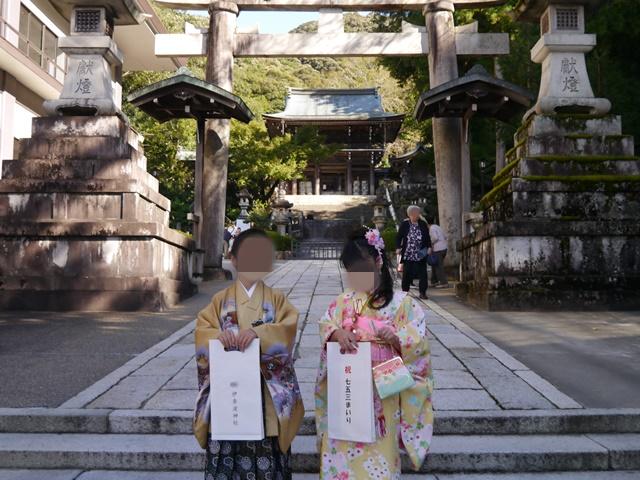伊奈波神社七五三撮影スポット
